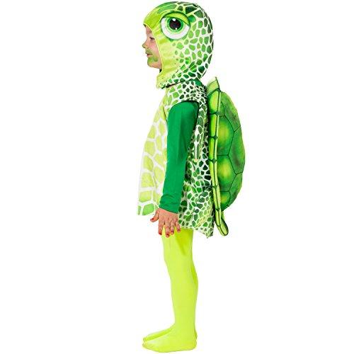 Unbekannt Tier Kostüm für Kinder Gr. 104 Schildkröte zur Auswahl Fasching Karneval
