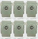 Polj - Compatibles para iRobot Roomba i7Plus - i7 - Serie E5 - E6-7 - S9 - S9Plus Kit 6 Bolsas