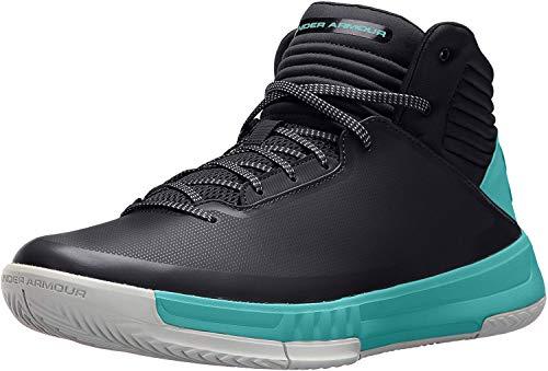 Under Armour Ua Lockdown 2, Chaussures de Basketball Homme, Multicolore (black 001), 42 EU