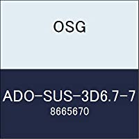 OSG 超硬ドリル ADO-SUS-3D6.7-7 商品番号 8665670