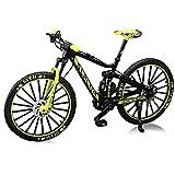 Mini 1:10 Modelo Bicicleta Aleación Diecast Metal Finger Mountain Bike Racing Toy Bend Road Road Simulación Juguetes para Niños