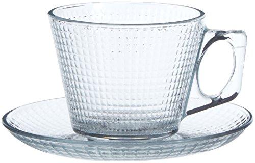 Pasabahce 1613255–Juego de 6par tazas 19,5cl generación, Transparente