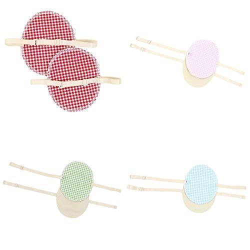 SDENSHI Anti-transpiration Imperméable Absorbant Absorbant De Sueur De 4 Paires D'aisselles