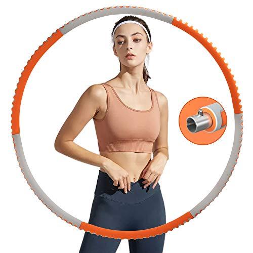 Jubliss Hula Hoop Reifen für Erwachsene, Fitness Hula Hoop zur...