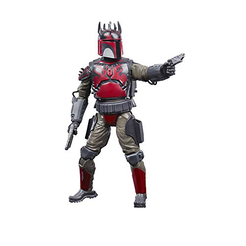 Star Wars The Black Series Manalorian Super Commando Toy 6-Inch Scale Action Figure, Ages 4 & Up