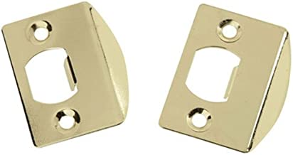 Belwith Products 1065 Lip Strike, Full Brass, 2-Pack
