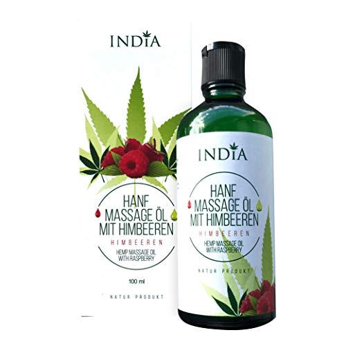 Aceite para piel y masajes con de cannabis calidad biolgica. semillas albaricoque, frambuesa, almendra dulce, ssamo, aguacate, sanda menta.