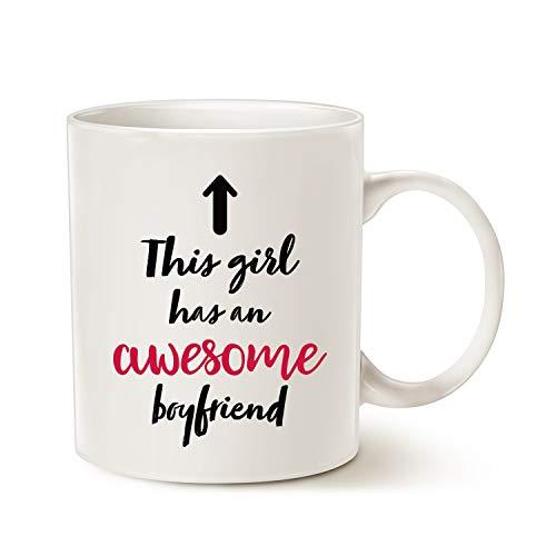 Funny Girlfriend Coffee Mug Christmas Gifts, This Girl...