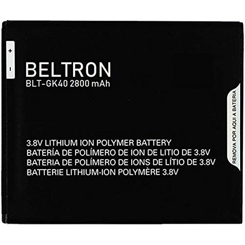 New 2800 mAh BELTRON Replacement Battery for Motorola G4 Play XT1607 - GK40