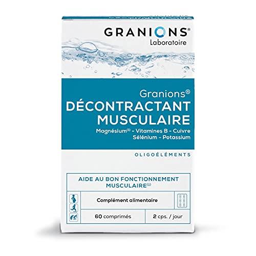 Granions Décontractant Musculaire - 60 comprimés...