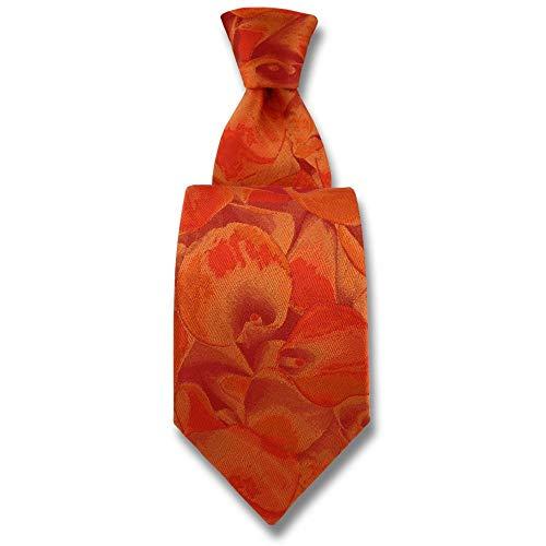 Robert Charles - Cravate Calla Orange