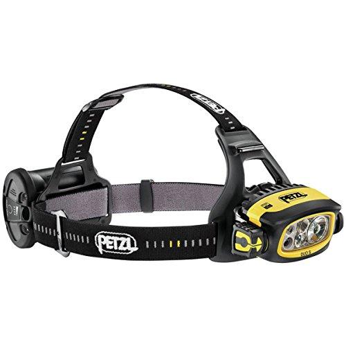 PETZL PT-E80CHR LED Stirnlampe Duo S Schwarz Gelb (Linterna con Cinta para...