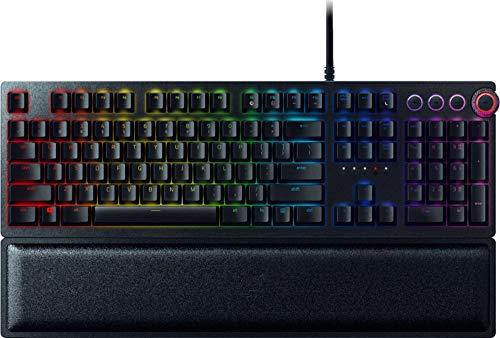 RAZER Huntsman Elite RZ03-01871100 Wired Gaming Razer Linear Optical Switch Keyboard w/RGB Back Lighting (Renewed)