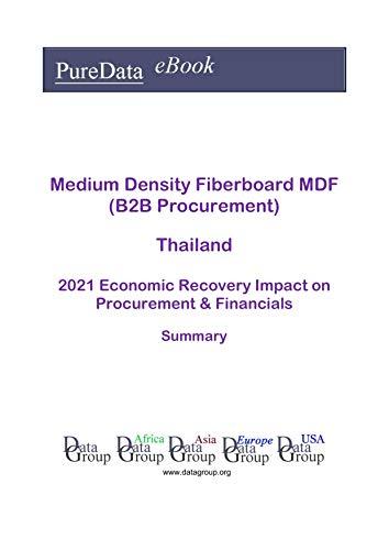 Medium Density Fiberboard MDF (B2B Procurement) Thailand Summary: 2021 Economic Recovery Impact on Revenues & Financials (English Edition)