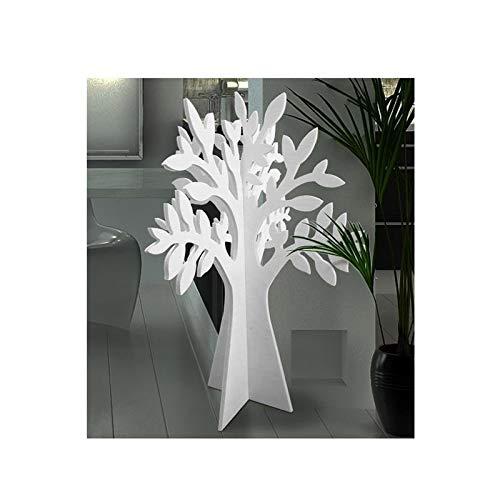 Lupia Scultura Creativa, Decorazione o espositore Porta Gioielli, Tableau Mariage Albero Bianco 34x50 cm