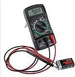 SANON AC DC Voltage Tester LCD Digital Multimeter Voltmeter Circuit Checker Buzzer