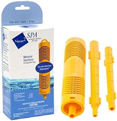 JKOWANS Nature 2 Spa Cartridge Stick Mineral Sanitizer Hot Tub Purifier Zodiac W20750 product image