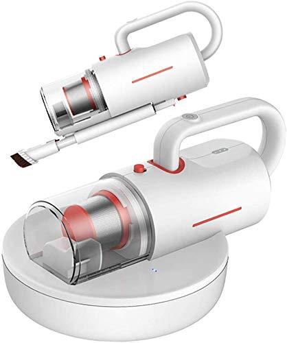 RENXR Aspirador Doméstico Antiácaros Mini Esterilizador Multifunción Aspirador Antiácaros del Polvo para Camas Sofá Colchón Alfombra