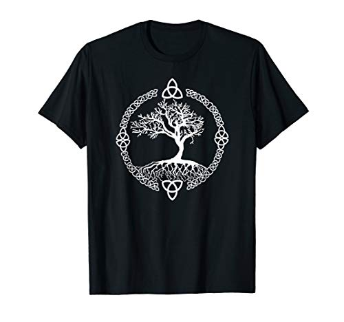 Tree of Life tshirt Yggdrasill Celtic Knot Shirt
