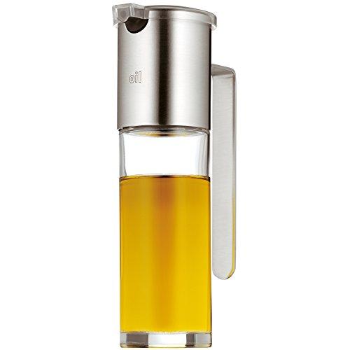 WMF - Aceitera con dosificador de cristal, mate, 17cm de altura, No Drop, colección Basic