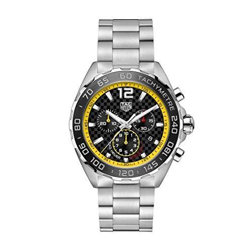 Tag Heuer orologio Formula 1 43mm Nero cronografo quarzo Acciaio CAZ101AC.BA0842