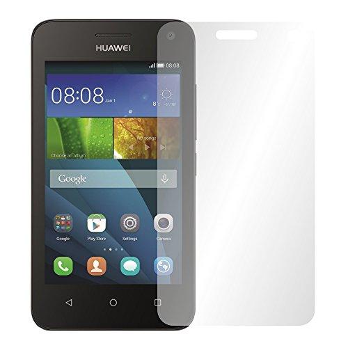 Slabo 4 x Bildschirmschutzfolie für Huawei Y3 Bildschirmfolie Schutzfolie Folie Zubehör Crystal Clear KLAR