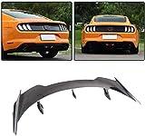 DIQON Adecuado para Ford Mustang GT Coupe 2015-2019, Alerón De Fibra De Carbono para Puerta Trasera, Alerón para Tapa De Maletero (No Descapotable)
