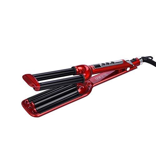 Fer à friser 16mm Professional Hair Curler Roller Salon Styling Tools 3 Barrels Ceramic Deep Wave Curler Hair Curling Iron Curling Wand