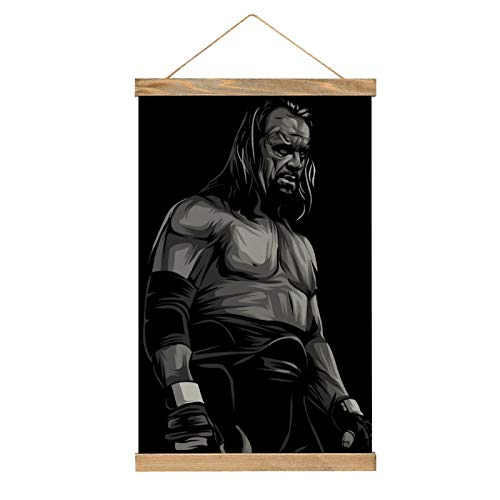HirrWill hohe Qualität Wandbilder Deko Poster, The Undertaker, Poster Wandbild mit Rahmenzubehör, fertig zum Aufhängen für die Heimdekoration -30cm '' × 50cm ''