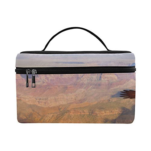 Impresionantes vistas del Grand Canyon Arizona Patrón Caja de almuerzo Bolsa de asas Almuerzo Titular Almuerzo aislado Bolsa para mujeres/hombres/picnic/canotaje/playa/pesca/escuela/tra