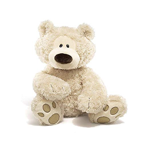 GUND Philbin Teddy Bear Large Stuffed Animal Plush, Beige, 18'