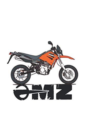 MZ Motorrad RT 125 Oldtimer Notizbuch: MZ Motorrad RT 125 Oldtimer Notizbuch Tagebuch Reisebuch Ideenbuch Geschenkidee DDR 120 Seiten liniert Weihnachten Ostern Geburtstag