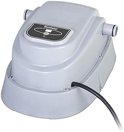 Bestway 58259 Rechauffeur électrique 2 800 watts Class II, Augmente la Température de L'eau Approximativement entre 0,50 °C et 1,5 °C/h , pour Piscines Diam 457 et Inférieur