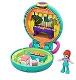 Polly Pocket- Vamos de Barbacoa Mini Cofre con Muñecas y Accesorios (Mattel GKJ43) , color/modelo surtido