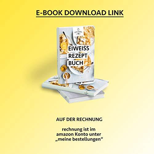 PROTEINVITAL Pures Hühner Eiweisspulver 100% natürlich aus Österreich 1000g Bodenhaltung – Neutral & ohne Kohlenhydrate – Proteinpulver zum backen kochen aufschlagen oder als shake zusatz – Laktosefrei Glutenfrei Fettfrei Süßstofffrei - 2