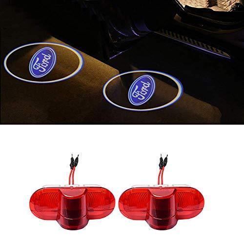 Cool Design Autotür Logo Projektion Licht Türbeleuchtung Willkommen Licht (COOL-FD-YBD-2PC)
