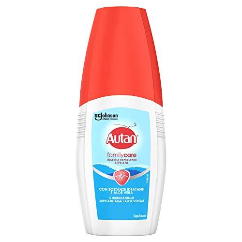 Autan Family Care Vapo, Insetto Repellente e Antizanzare Tigre e Comuni, 1 Confezione da 100 ml