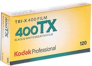 kodak 115 3659 Tri-X 400 Professional 120 Black and White Film 5 Roll Propack