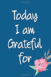 Today I Am Grateful For: 365 days Gratitude Journal, Reflection, Thankful for notebook, 3 things to be grateful for, amazi...