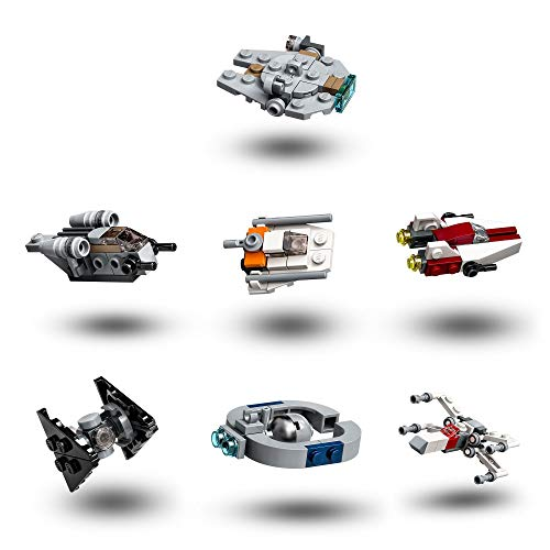 LEGO 75279 Star Wars Advent Calendar 2020 Christmas Mini Builds Set with Iconic Starships and Characters