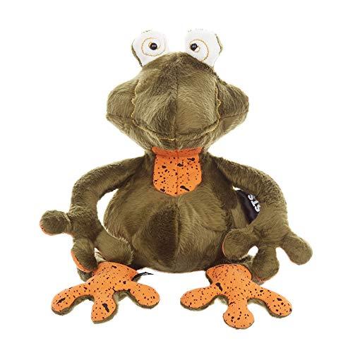 Sigikid Frosch - Frog Doc, BeastsTown, Kuscheltier für Erwachsene und Kinder, grün/orange, 39341