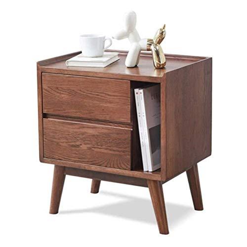 FTFTO Haushaltsprodukte Nachttische Wohnzimmer Beistelltische Einfacher Nachttisch Organisiert Schlafzimmer Lünette Nachttisch Schublade Aufbewahrungsschrank Geeignet für: Wohnzimmer/Schlafzimmer/Arb