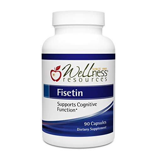 Fisetin - Great Value for Top Quality (100mg, 90 Capsules) - Novusetin Supplement for Memory, Focus, Brain Health - Gluten-Free, Non-GMO, Vegan