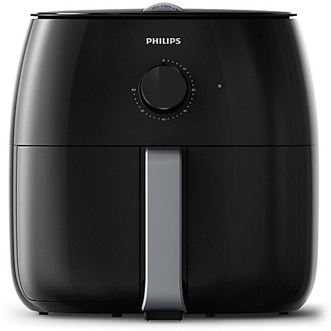 Philips Premium (4.4lb/7.3qt) Airfryer XXL with Fat Removal Technology, Black/Silver - HD9630/96