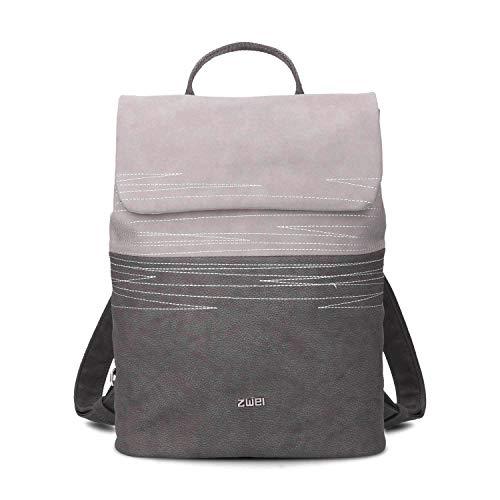 Zwei Rucksack Damen Mademoiselle CHR13-z Kunstleder, Farben Taschen:Nubuk-Stone