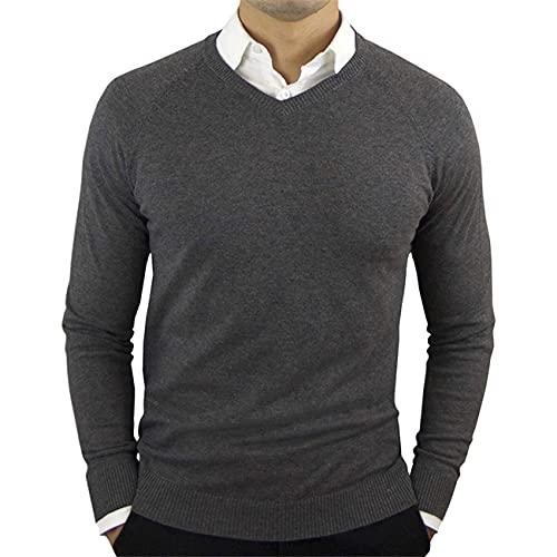 ZUYOU Herren Sweater Langarmshirts...