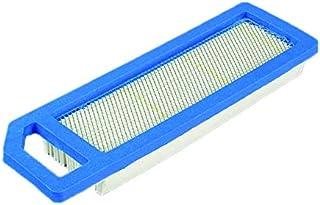 Ratio Parts Filtro de Aire Plano 219x 66,7x 22,5mm para Kawasaki Cortacésped Filtro de Aire Plano, Color Blanco Azul