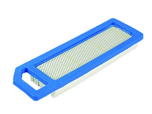 Ratioparts vlakluchtfilter 219 x 66,7 x 22,5 mm voor Kawasaki grasmaaier luchtfilter vlak, wit blauw