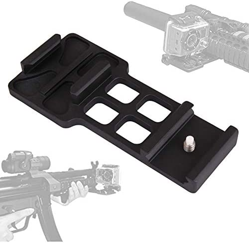 FOCUS REVISION Tactical Cantilever Camera Picatinny Weaver Gun Rail Side Mount for Gopro Hero product image