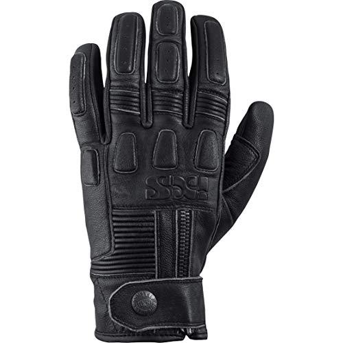 IXS Motorradhandschuhe kurz Motorrad Handschuh Kelvin Handschuh antik schwarz 5XL, Herren, Lifestyle, Ganzjährig, Leder